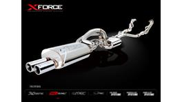 Xforce Cat-Back System Dual 2.5' Raw 409 Stainless